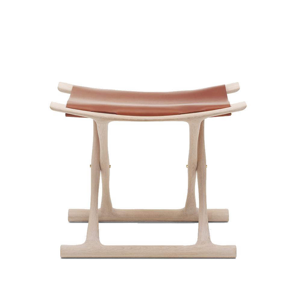 OW2000 egyptian stool carl hansen solid wood designer stool
