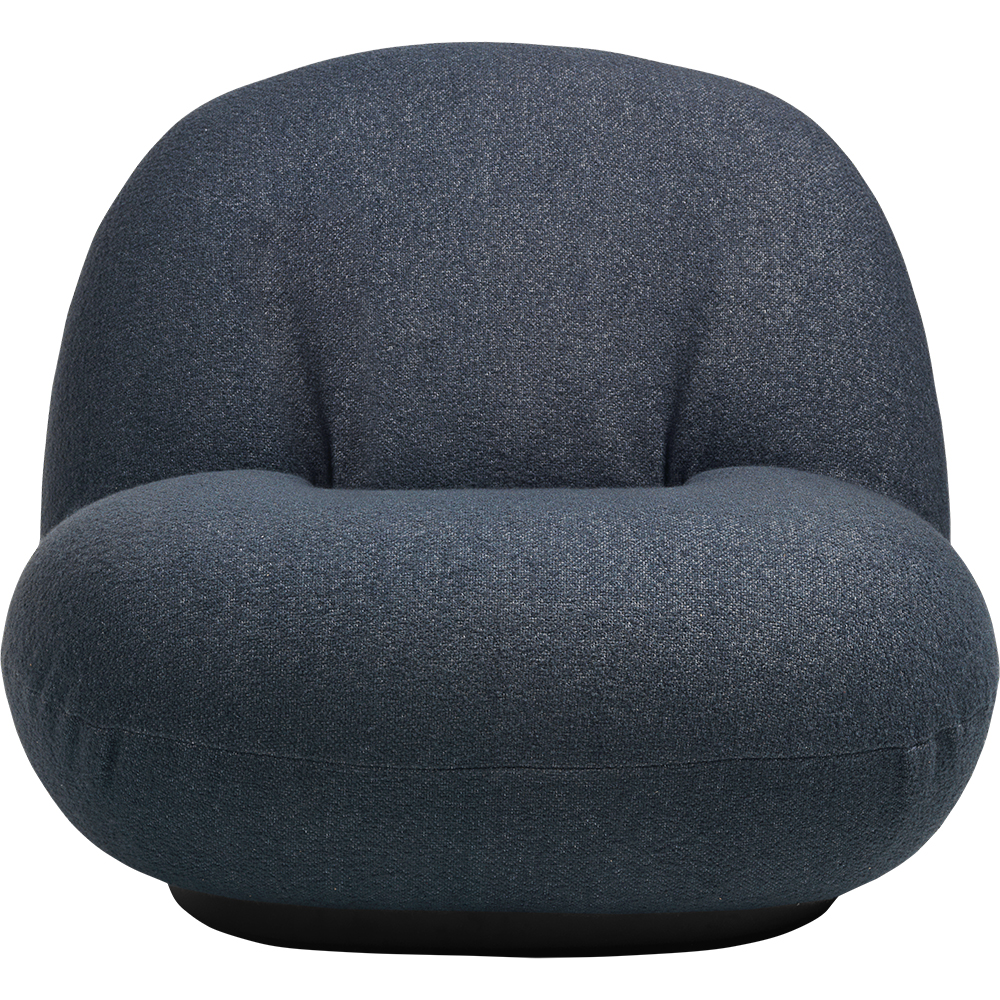 pacha lounge chair pierre paulin gubi contemporary modern designer fully upholstered lounge chair