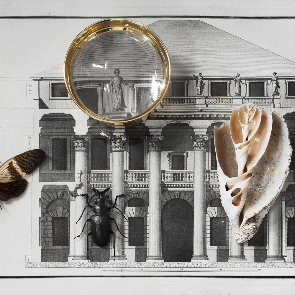 Pallina Magnifying Glass by Olivia Herms for Skultuna