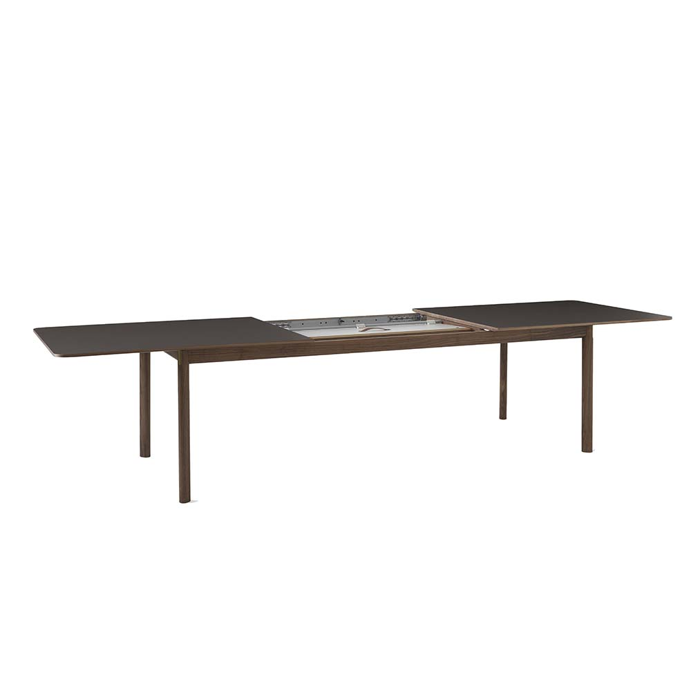patch hee welling andtradition modern contemporary danish designer extendable extending butterfly table
