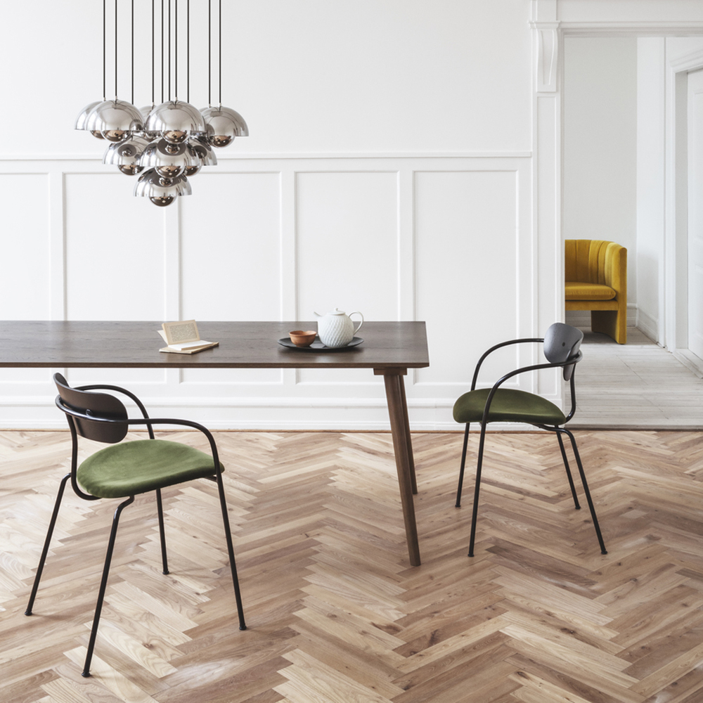 pavilion chair andtradition anderssen voll modern contemporary danish designer slim dining chair