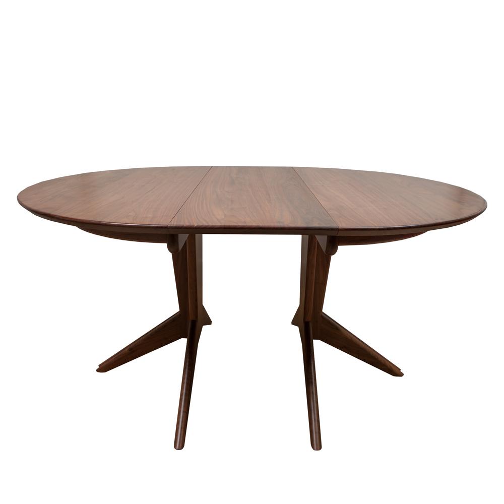 Pedestal PDT 48 Extension table Mel Smilow Furniture modern designs shop suite ny