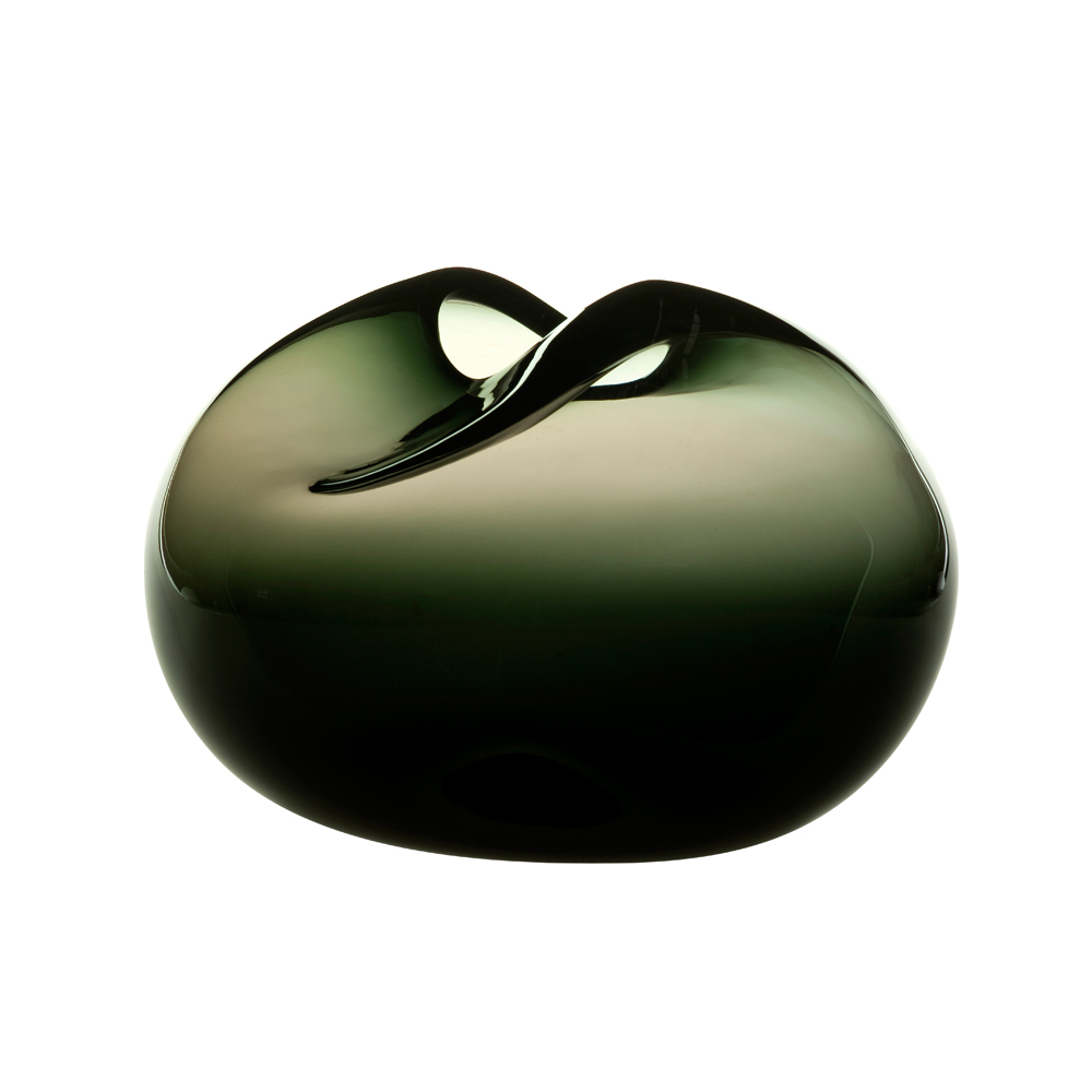 Pebbles Vases Kate Hume When Objects work colorful glass dark grey green