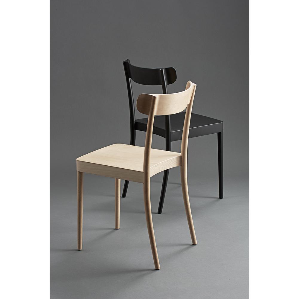 petite solid wood dining chair david ericsson garsnas modern contemporary designer swedish scandinavian minimalist simple wooden wood dining chair seating
