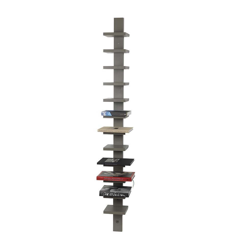 pilaster john kandell kallemo modern contemporary slim tall bookshelf shelving unit