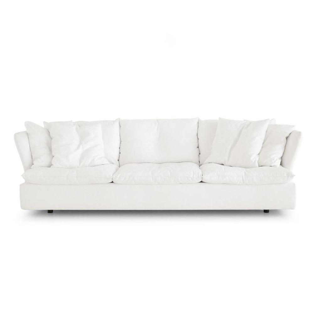 Pillow sofa collection designed by Vico Magistretti for De Padova shop suite ny