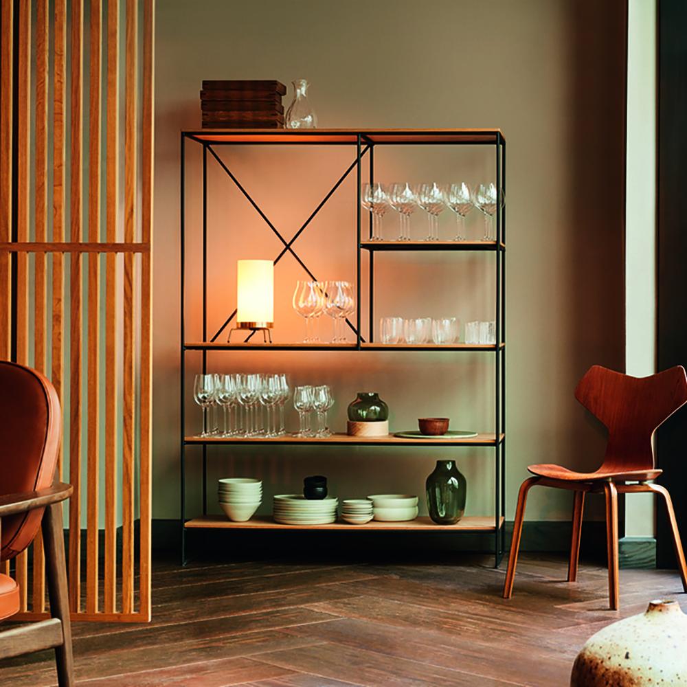planner shelving system paul mccobb fritz hansen modern contemporary danish designer shelving unit