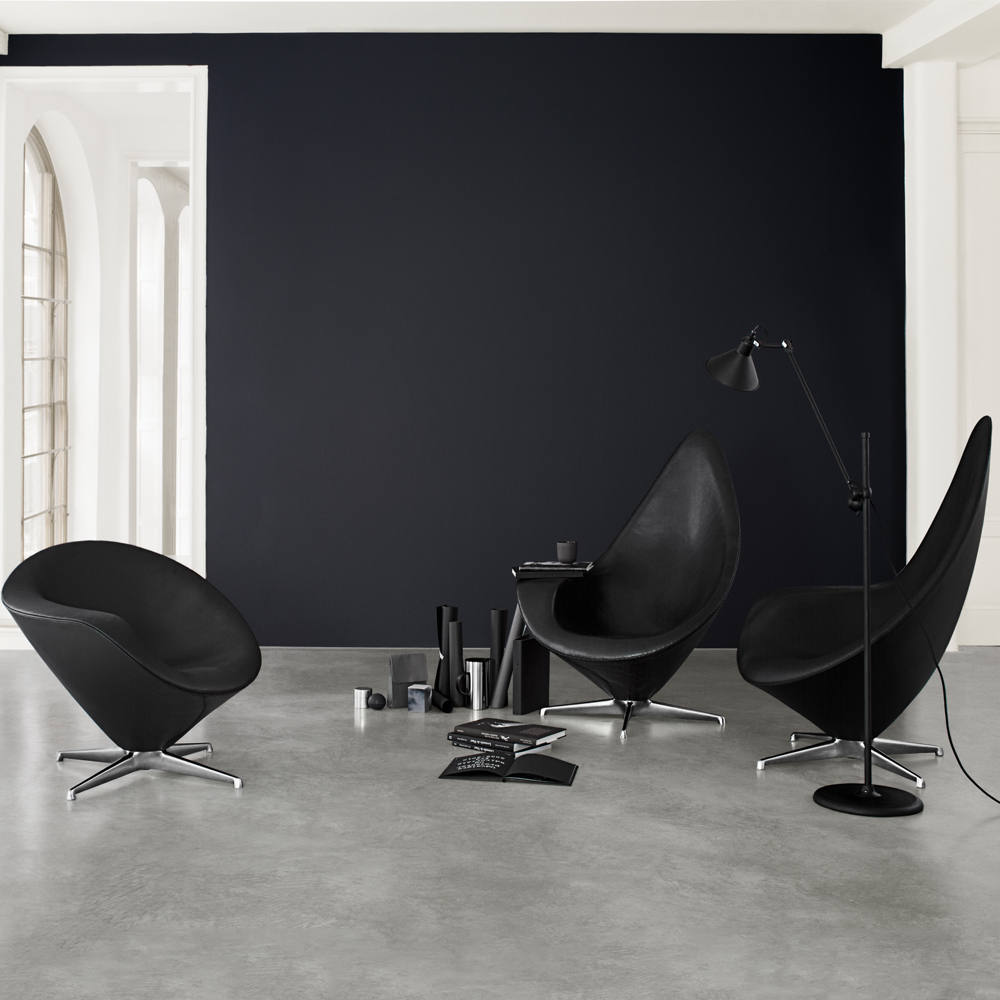 Plateau Lounge Chair Armchair Erik Magnussen Engelbrechts Product Partners Upholstered Leather Denmark Danish Design Furniture
