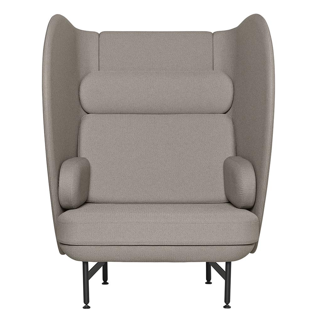 plenum jaime hayon fritz hansen modern contemporary danish designer high back high sides sofa armchair