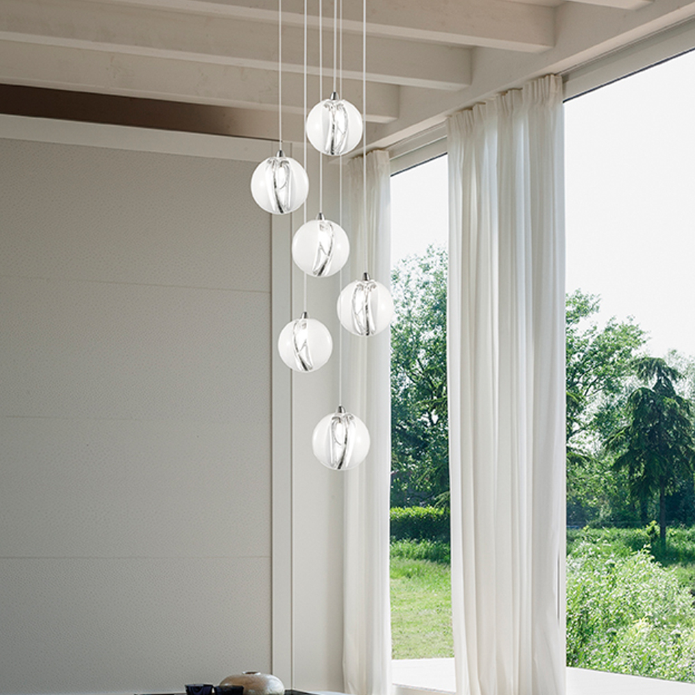 Poc Barbara Maggiolo Vistosi italian pendant suspension lamp