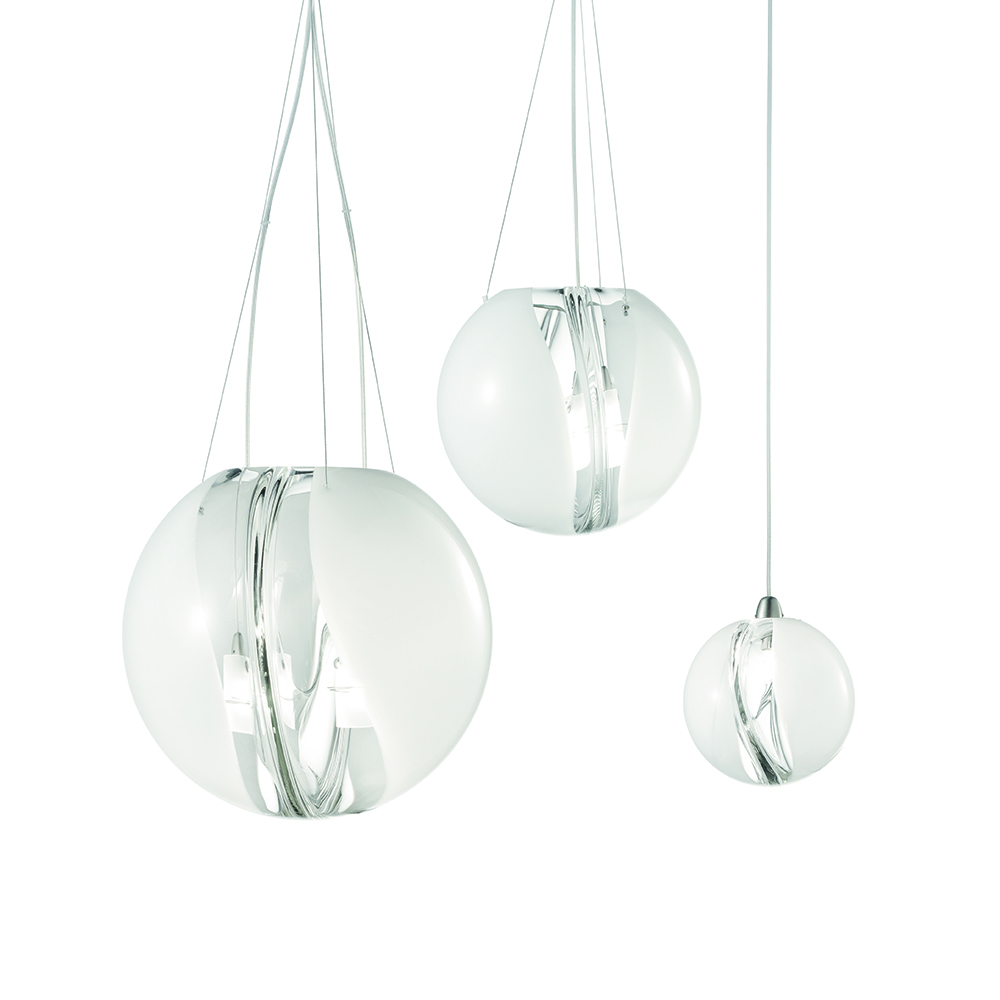 Poc Barbara Maggiolo Vistosi italian pendant table lamp