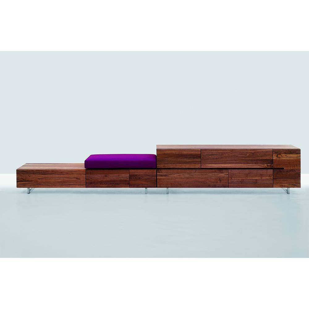 podest formstelle zeitraum modern designer contemporary mid century wooden solid wood sideboard
