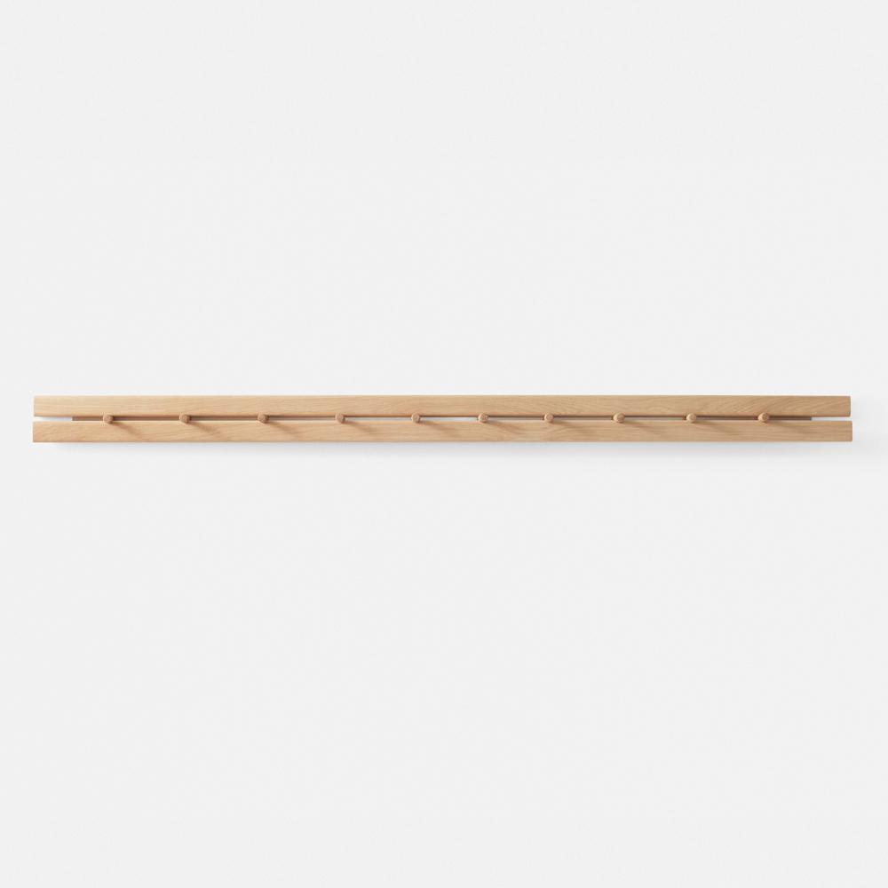 poets book hanger jakob jorgensen modern contemporary danish designer wood hanger hanging organizer