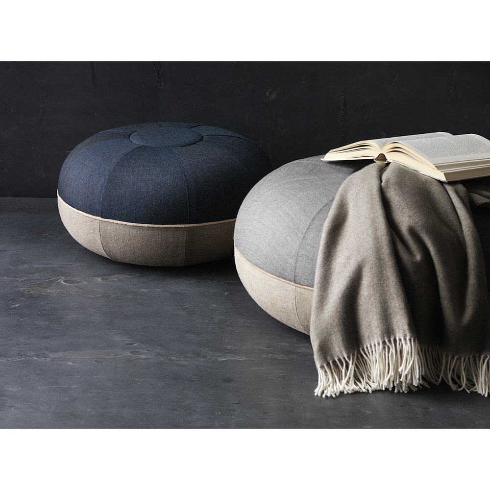 pouf cecilie manz fritz hansen suite ny. Black Bedroom Furniture Sets. Home Design Ideas