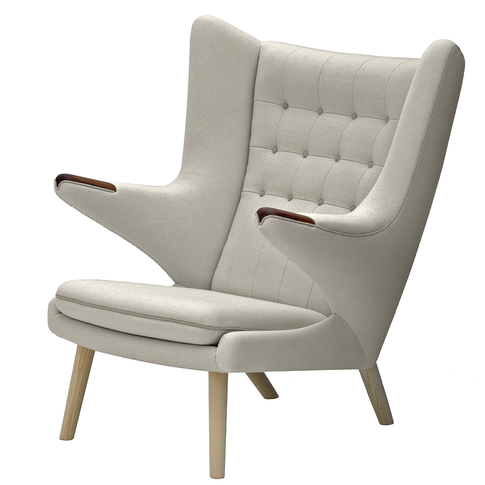 pp19 papa bear easy chair PP Møbler upholstered danish designer armchair