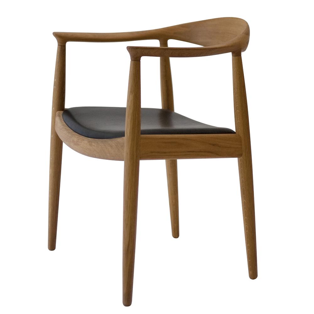 pp503 circular chair hans j wegner pp mobler danish solid wood modern designer dining chair
