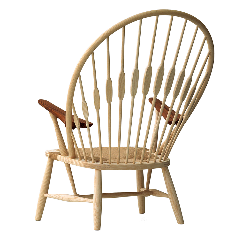 pp550 peacock chair hans j wegner pp mobler danish designer high back easy chair