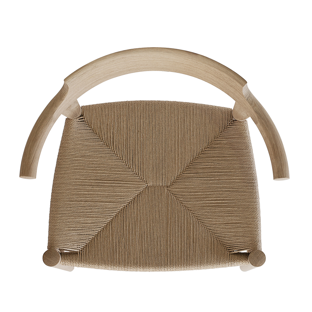 pp møbler pp68 hans j wegner solid wood danish designer dining chair armrests