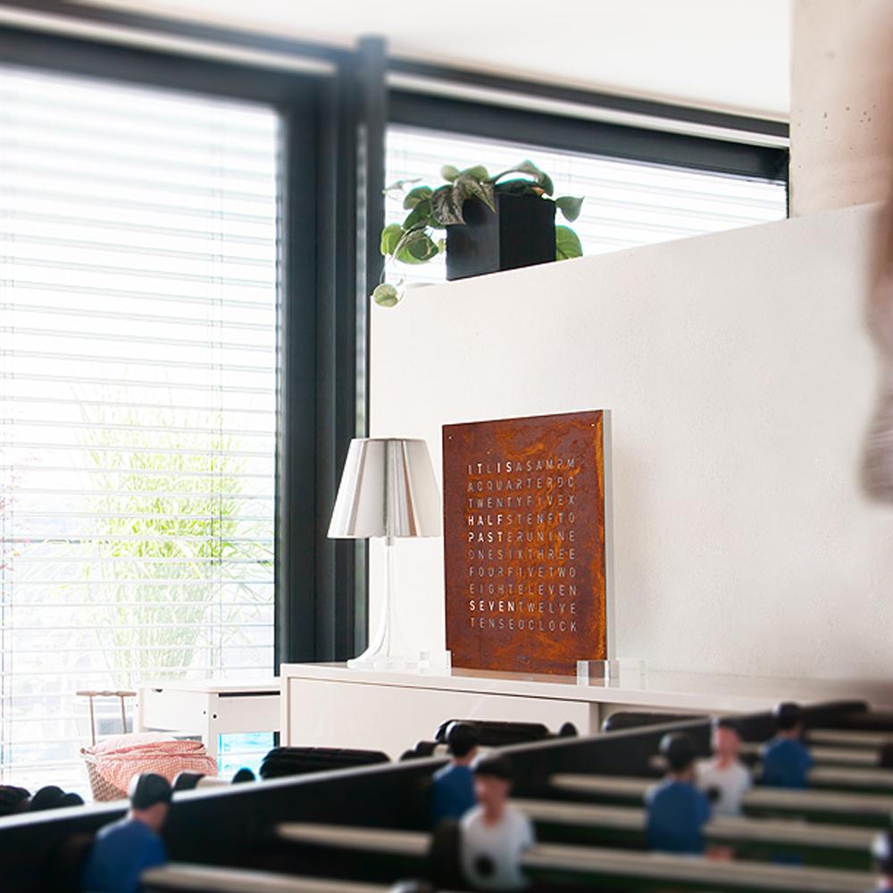 QLOCKTWO designed by Biergert & Funk