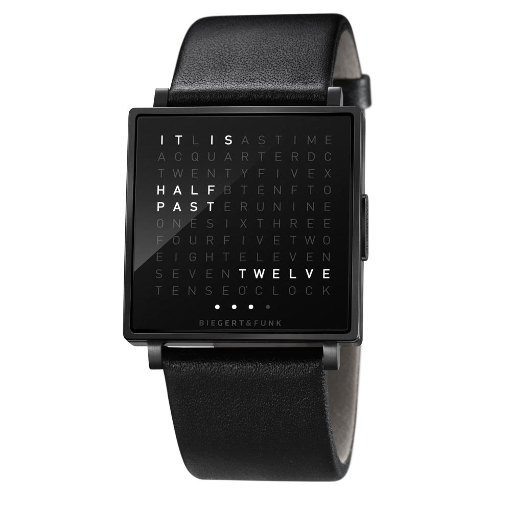QLOCKTWO W Watch designed by Beigert & Funk