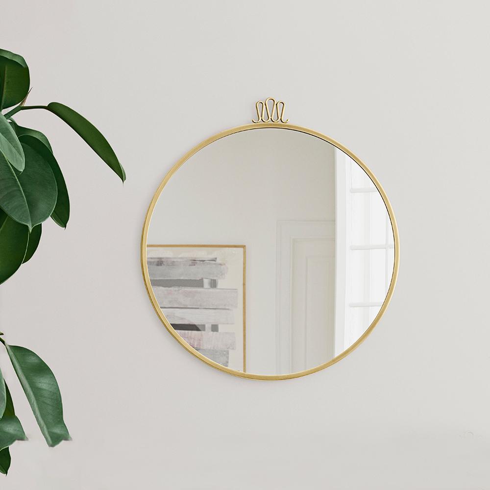 randaccio circular wall mirror gio ponti gubi brass home accessories italian design furniture midcentury iconic italy shop suite ny
