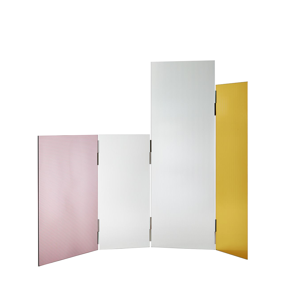 rayures screen bouroullec glas italia designer modern italian contemporary glass screen partition divider
