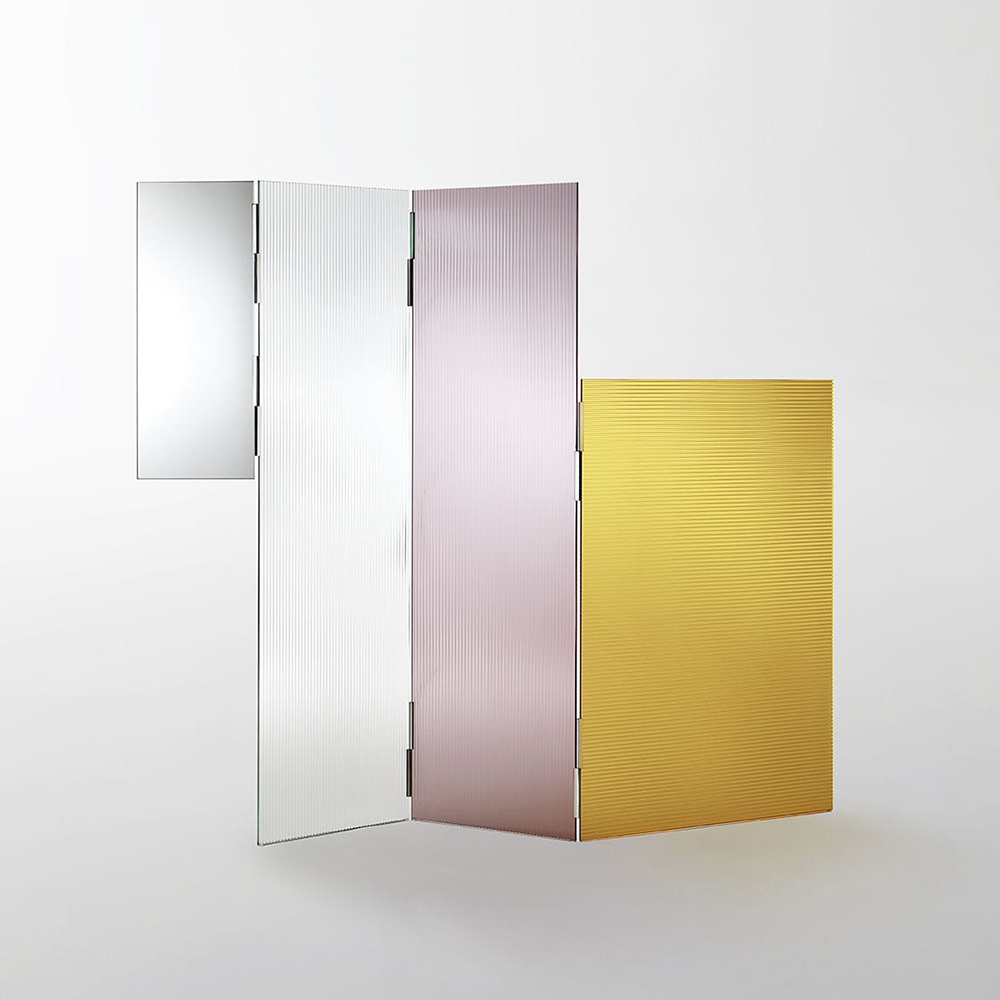 rayures screen bouroullec glas italia designer modern italian contemporary glass screen partition divider