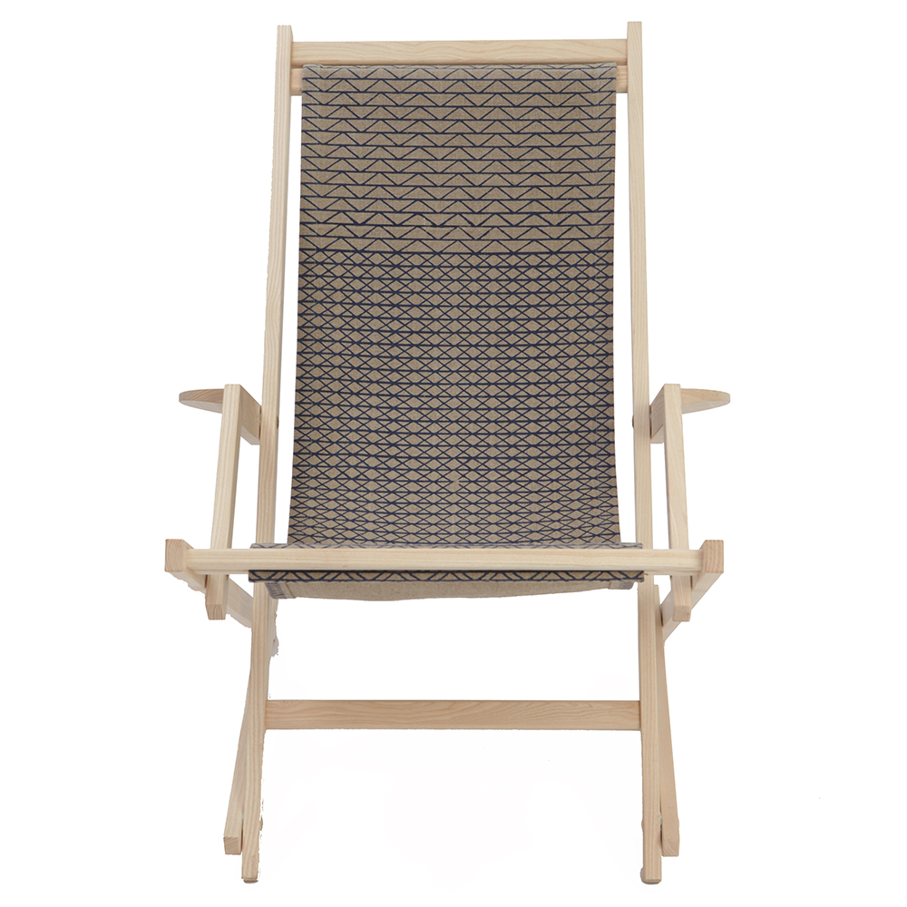 dan svarth rocking chair a petersen modern designer contemporary danish wood canvas rocking chair