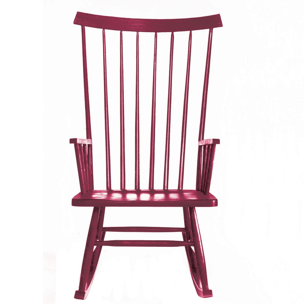 Mel Smilow classic rocking chair midcentury modern furniture