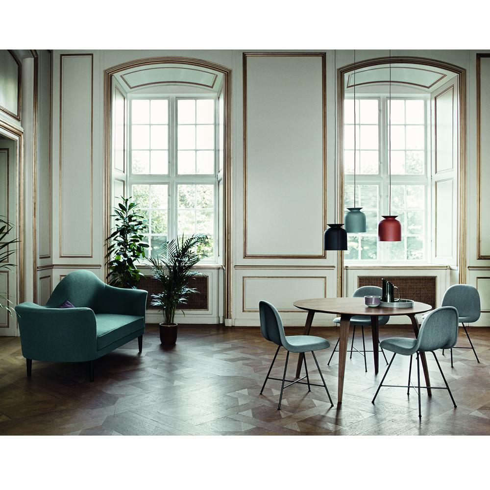 GUBI Ellipse Table Komplot design modern wood oval dining table