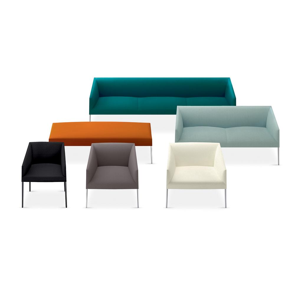 Saari Sofa designed by Lievore, Altherr, Molina for Arper