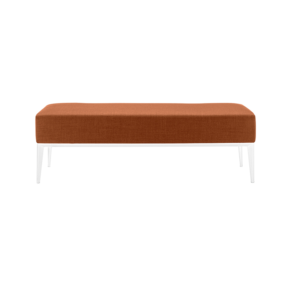 sean bench jean-marie massaud arper contemporary designer modern upholstered bench architects architecture contract sales american