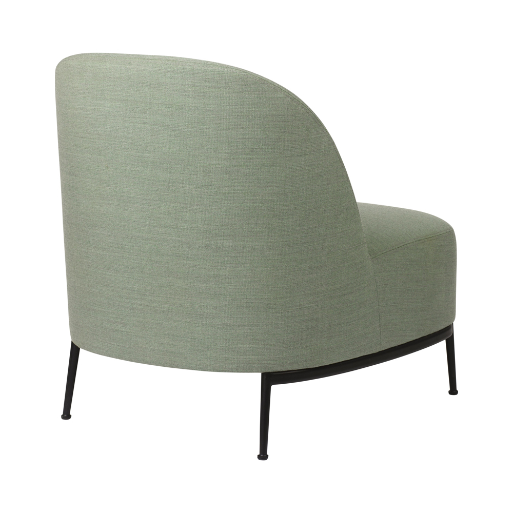 sejour lounge chair gubi gamfratesi modern contemporary designer upholstered boucle lounge chair