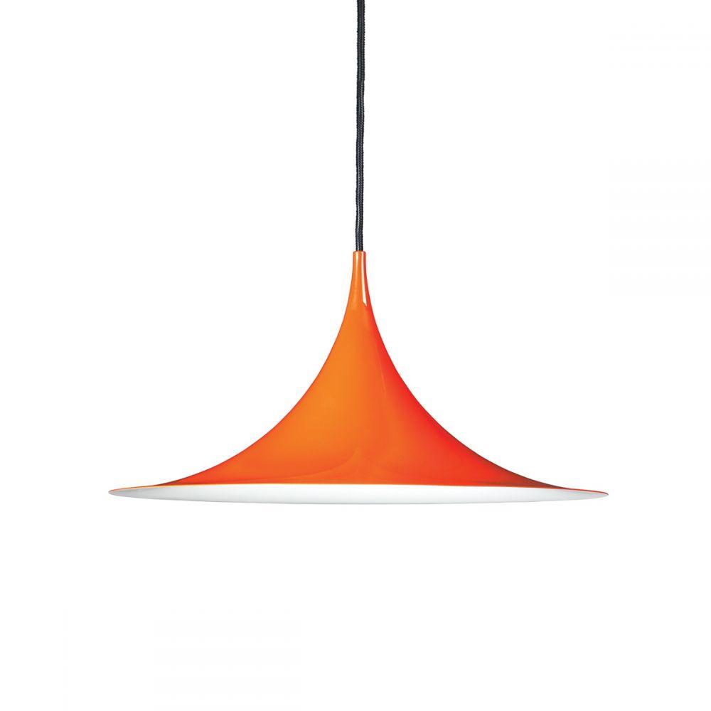 Semi pendant orange GUBI Claus Bonderup Torsten Thorup