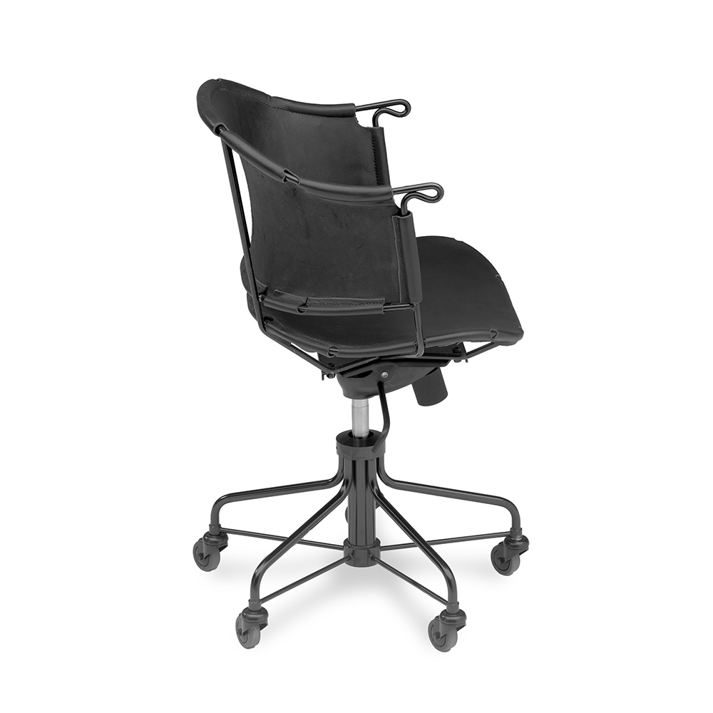 sheriff mats theselius kallemo modern contemporary designer leather office task chair
