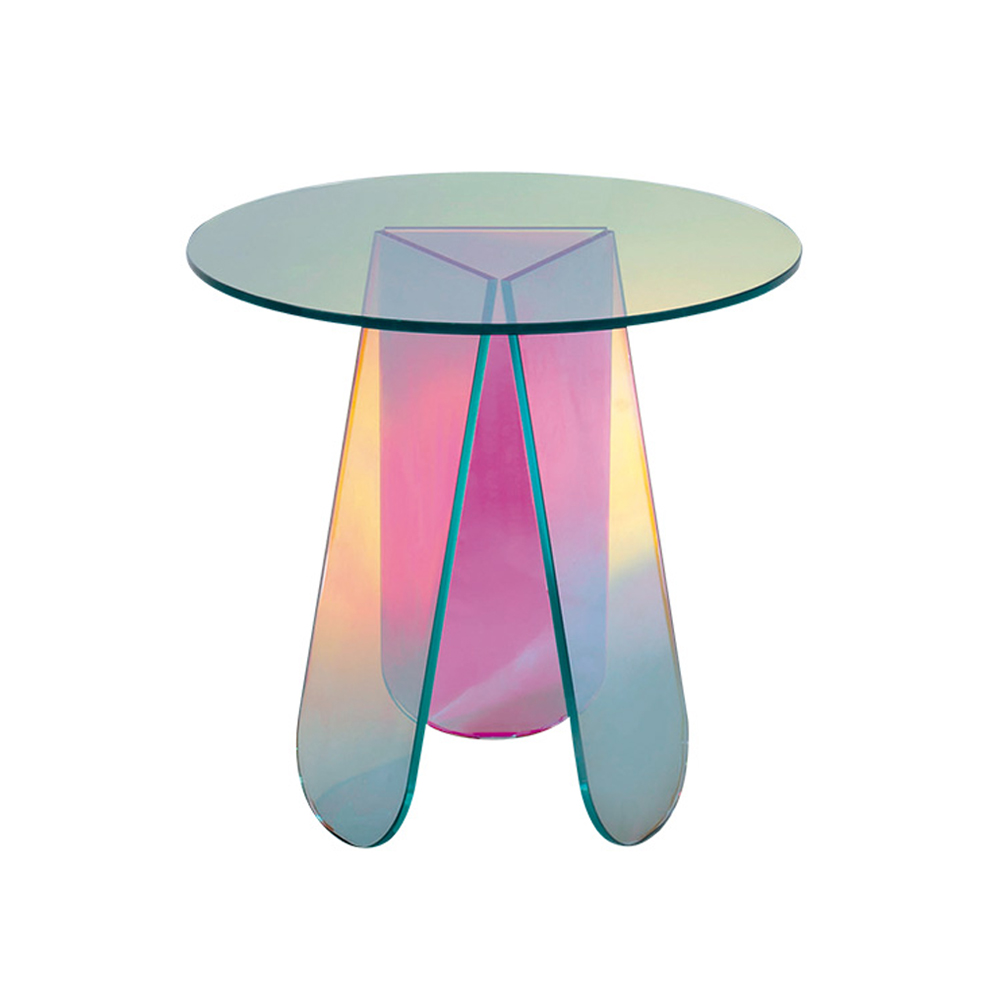 Shimmer tables patricia urquiola glas italia suite ny - Table basse luxe design ...