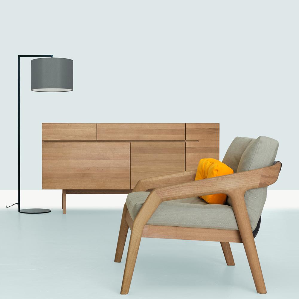 side formstelle zeitraum modern designer contemporary mid century wooden solid wood sideboard