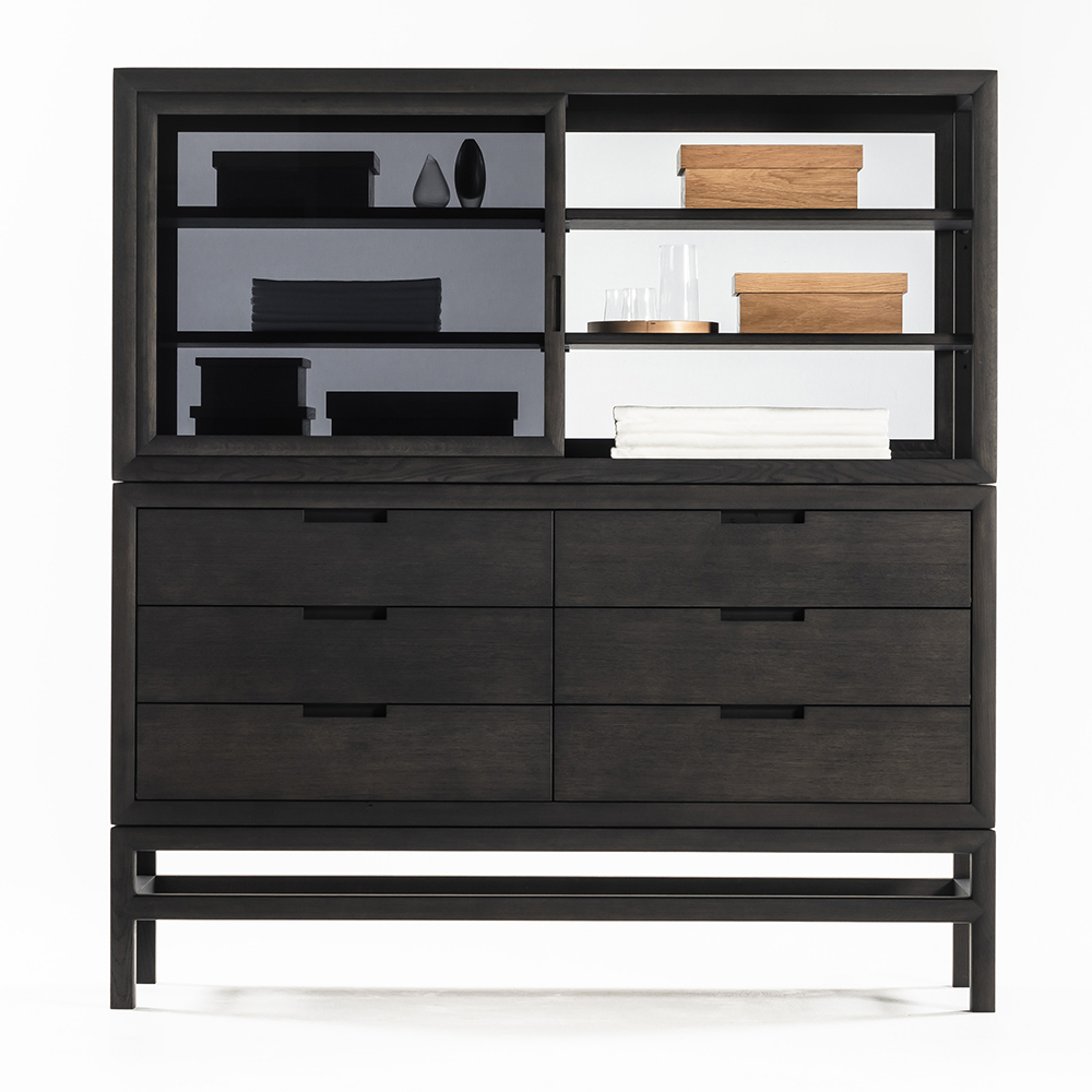 silent drawer cabinet time and style de padova