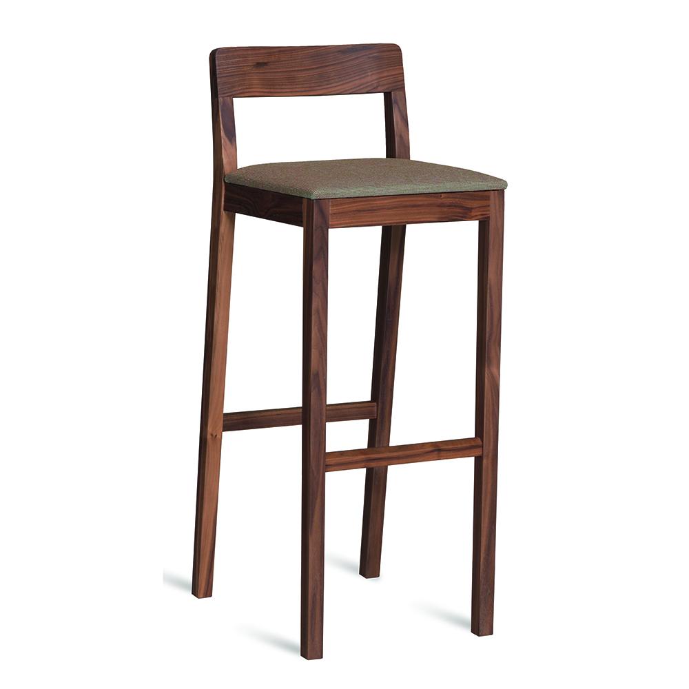 Sit Bar Stool Lorenz Kaz Zeitraum modern designer wood bar stool