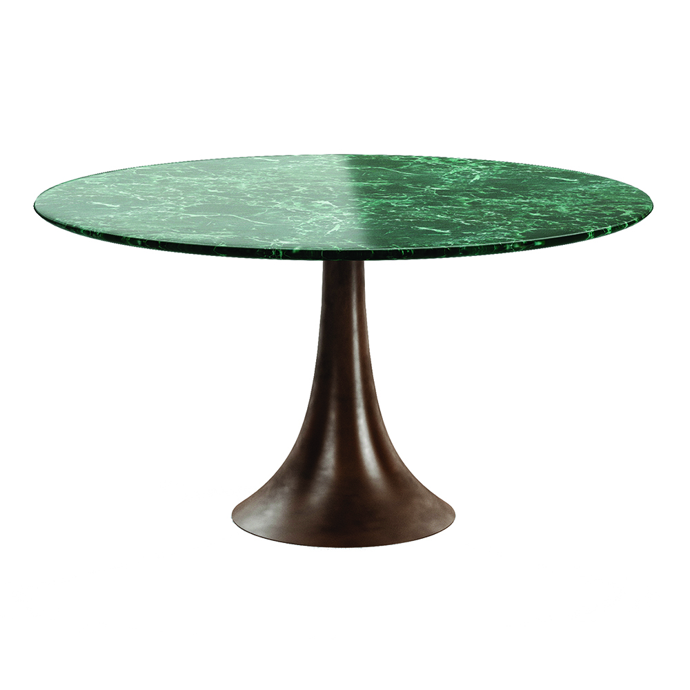 sk207 table angelo mangiarotti agapaecasa modern italian designer round marble dining table