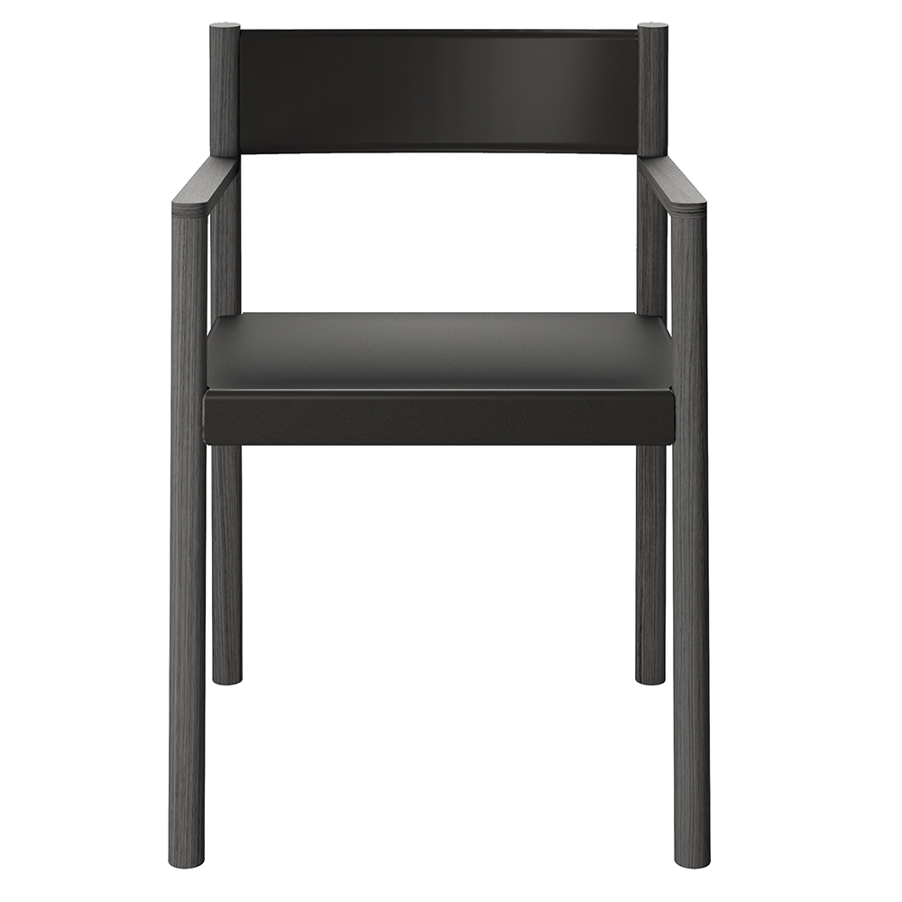 so chair fukasawa depadova wooden modern chair with arms