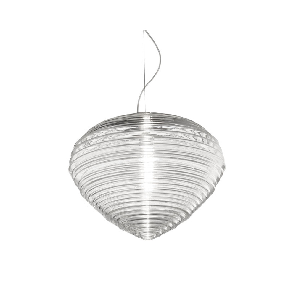 Spirit chandelier murano glass suspension light Marco Acerbis Vistosi