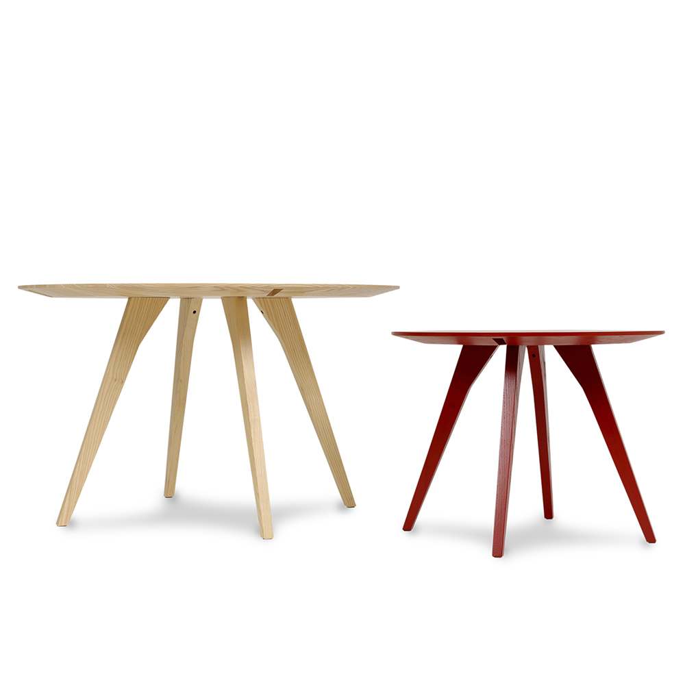 spot table staffan holm kallemo modern contemporary designer collapsable dismountable coffee dining table