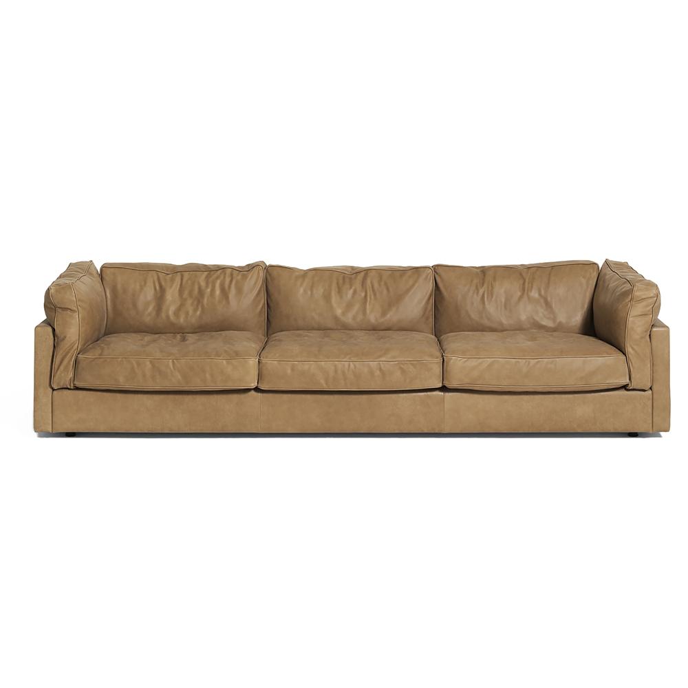 square ground sofa depadova modern italian designer upholstered sofa