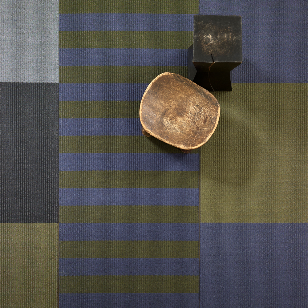 Squareplay Paperyarn rugs by Ritva Puotila for Woodnotes at SUITE NY