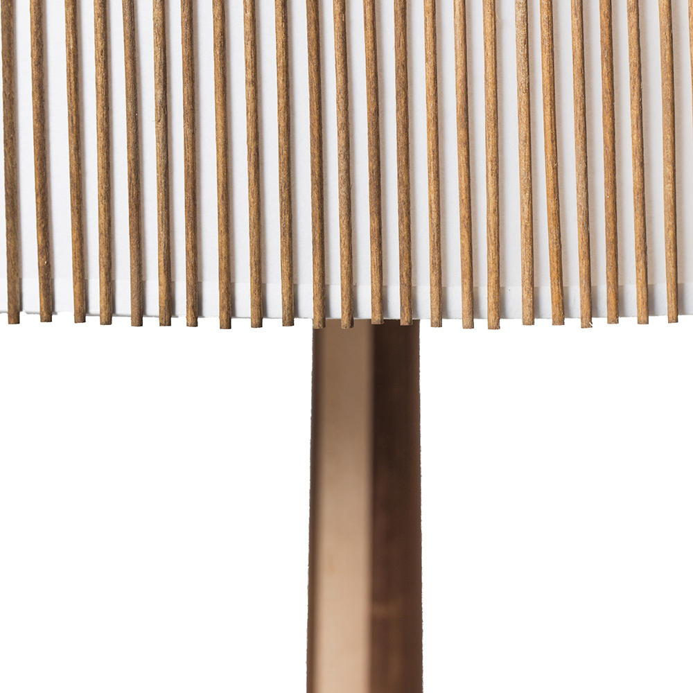 standing floor lamp mel smilow smilow furniture midcentury modern american designer wooden floor light