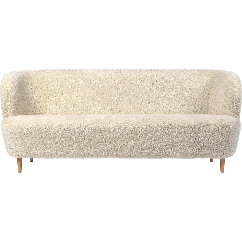 Stay Sofa by Space Copenhagen in sheepskin