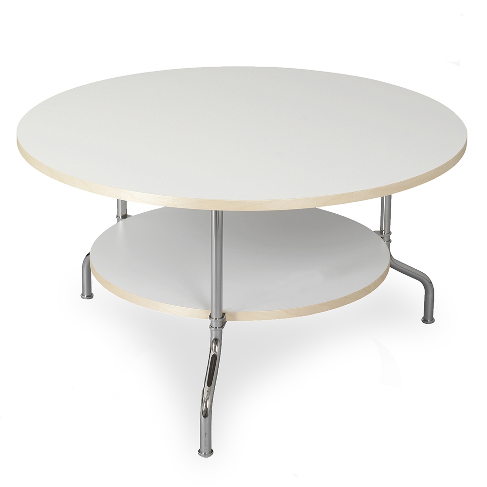 sven mats theselius kallemo modern contemporary european scandinavian designer round circular two level multi-level table