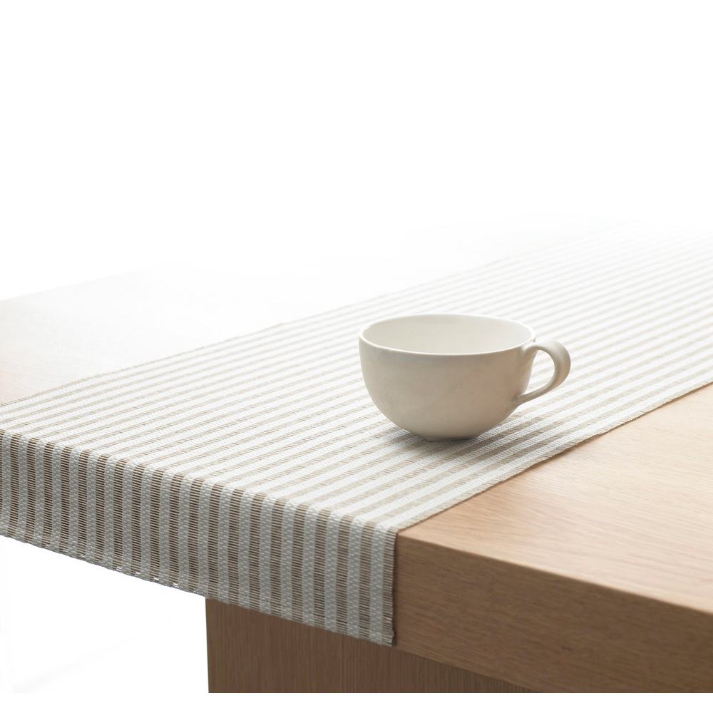 Paper Yarn table runners designed by Ritva Puotila for Woodnotes sold at SUITE NY