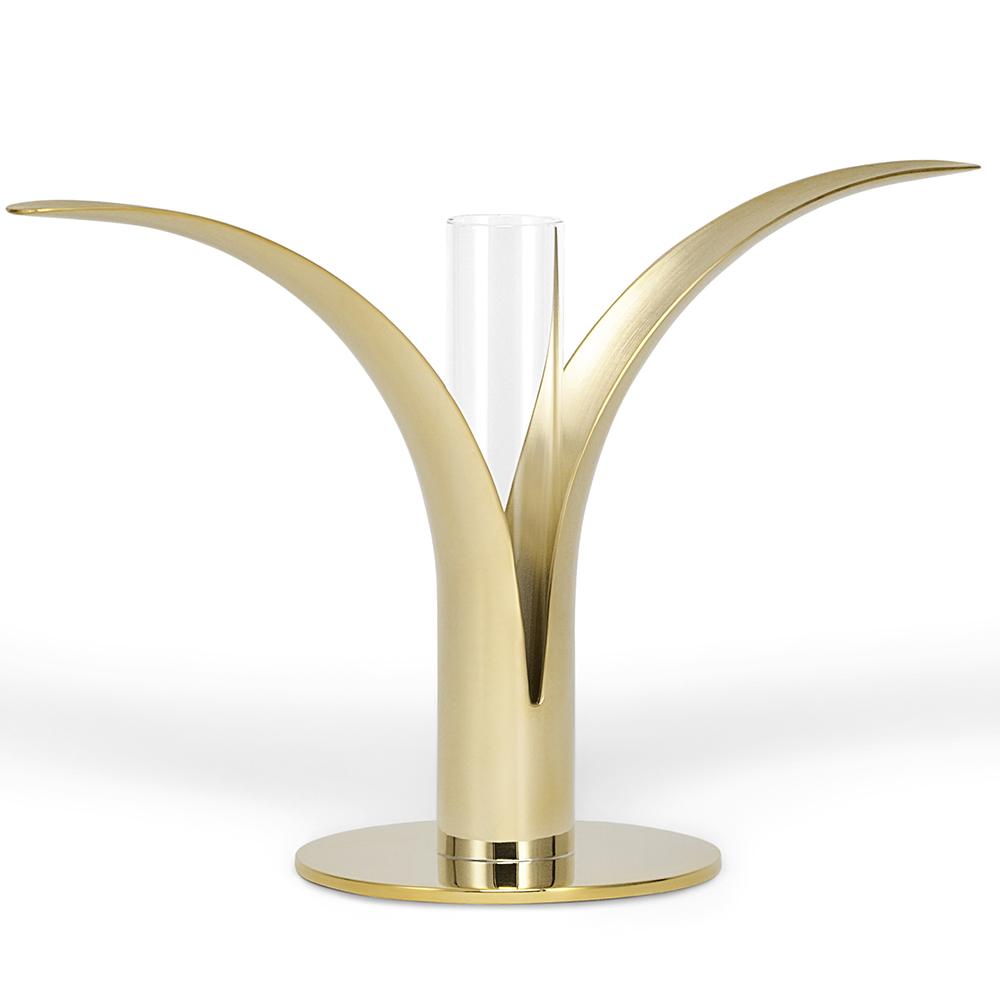 The Lily Candlestick by Ivar Ålenius Björk for Skultuna